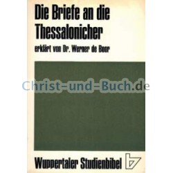 Wuppertaler Studienbibel Thessalonicher Briefe, Werner de Boor